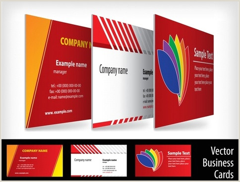 Creative Business Card Designs Creative Business Card Free Vector 31 325 Free