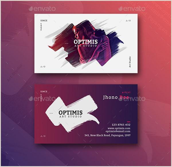 Creative Business Cards Artist 49 Artist Business Card Templates Free Psd Vector Png Ai