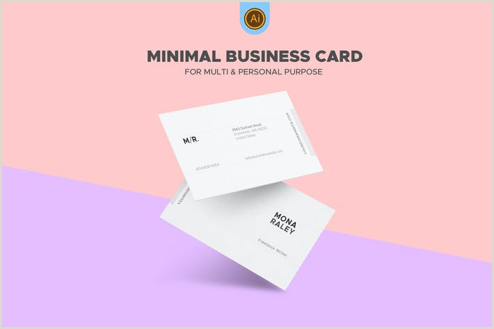 Creative Business Cards For Writers Creative Writer Business Card By Eightonesixstudios On Envato Elements