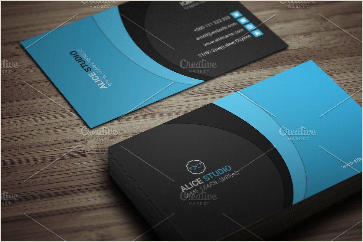 Creative Business Creative Business Card Design In 2020