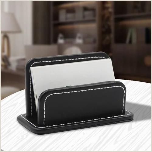 Creative Business Fice Creative Leather Name Card Holder Fice Business Card Box Vova