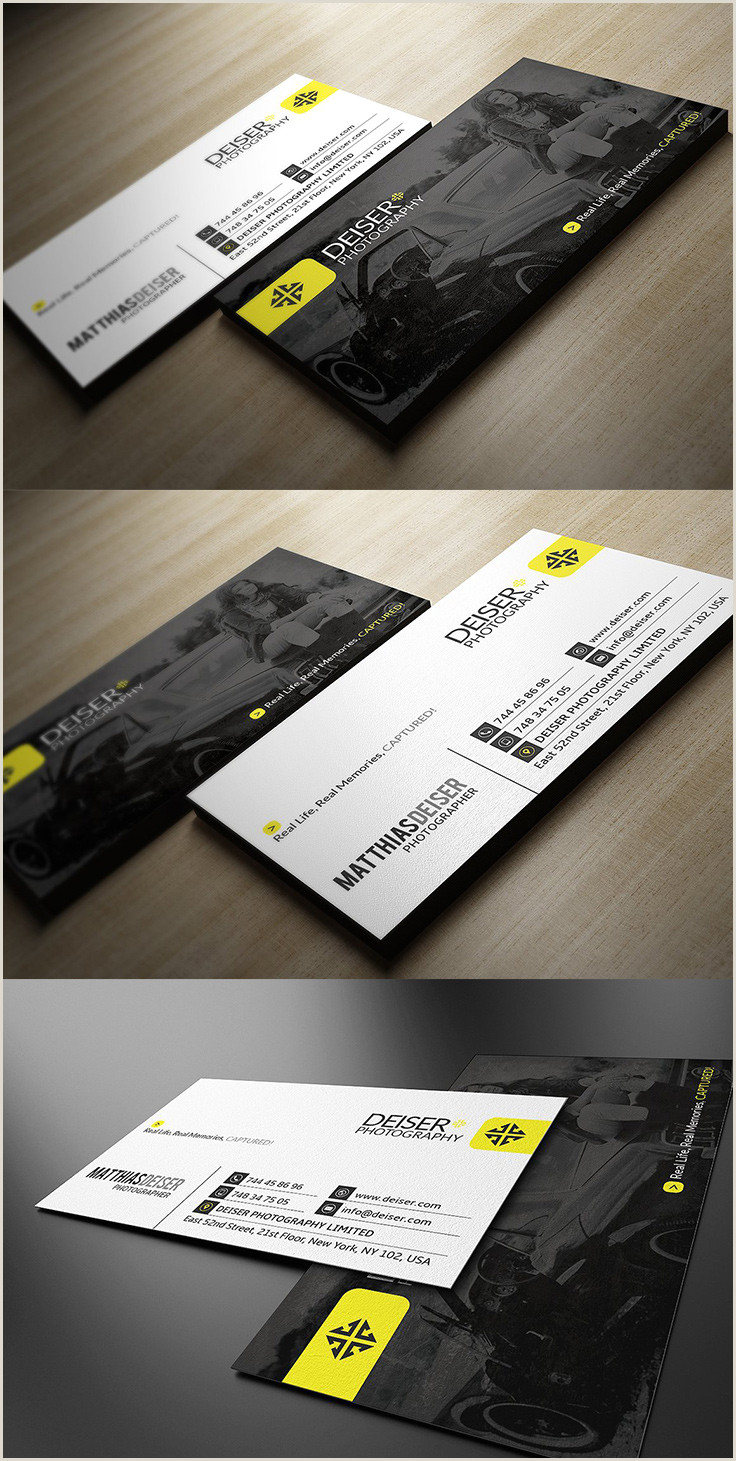 Creative Photography Business Cards 40 Graphy Business Card Templates