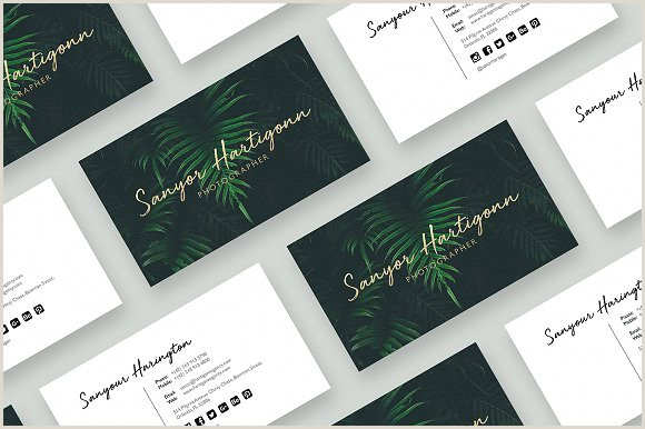 Creative Photography Business Cards Graphy Business Card