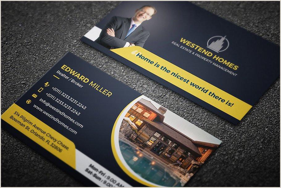 Creative Real Estate Business Cards 10 Real Estate Business Card Bundle