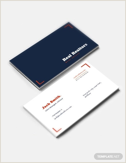 Creative Real Estate Business Cards 25 Free Real Estate Business Card Templates Indesign Ms