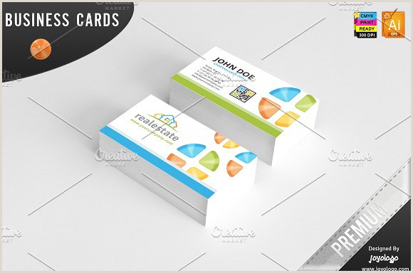 Creative Real Estate Business Cards 3d Real Estate Business Cards Design