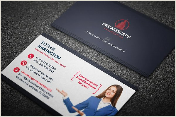 Creative Real Estate Business Cards Real Estate Business Card