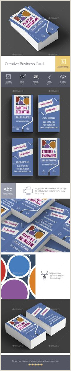 Creative Unique Painter Business Cards 10 Business Cards For Painters Images