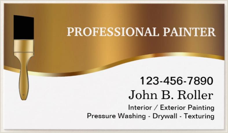 Creative Unique Painter Business Cards 22 Painter Business Card Designs & Templates Psd Ai