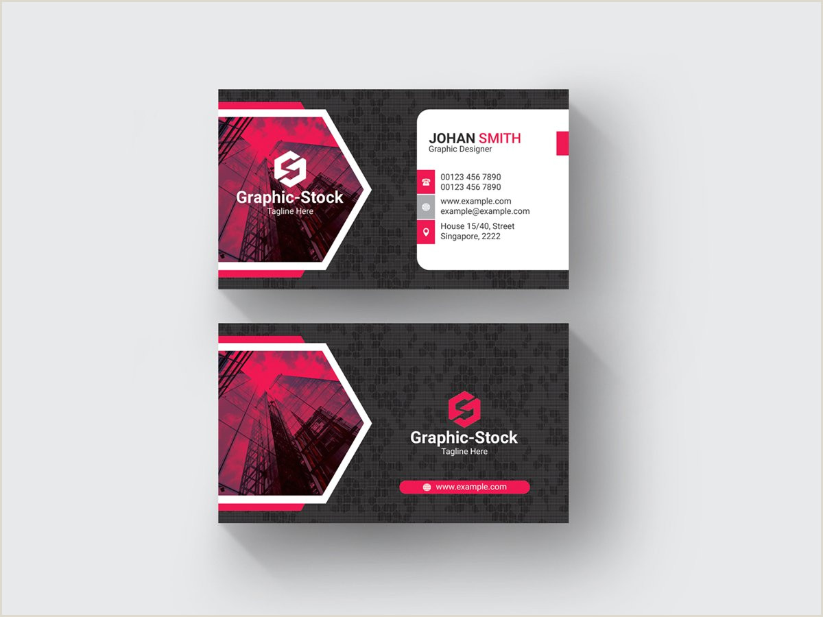 Creative Unique Painter Business Cards Creative Business Card Template