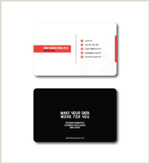Creative Unique Science Business Cards Science Business Cards