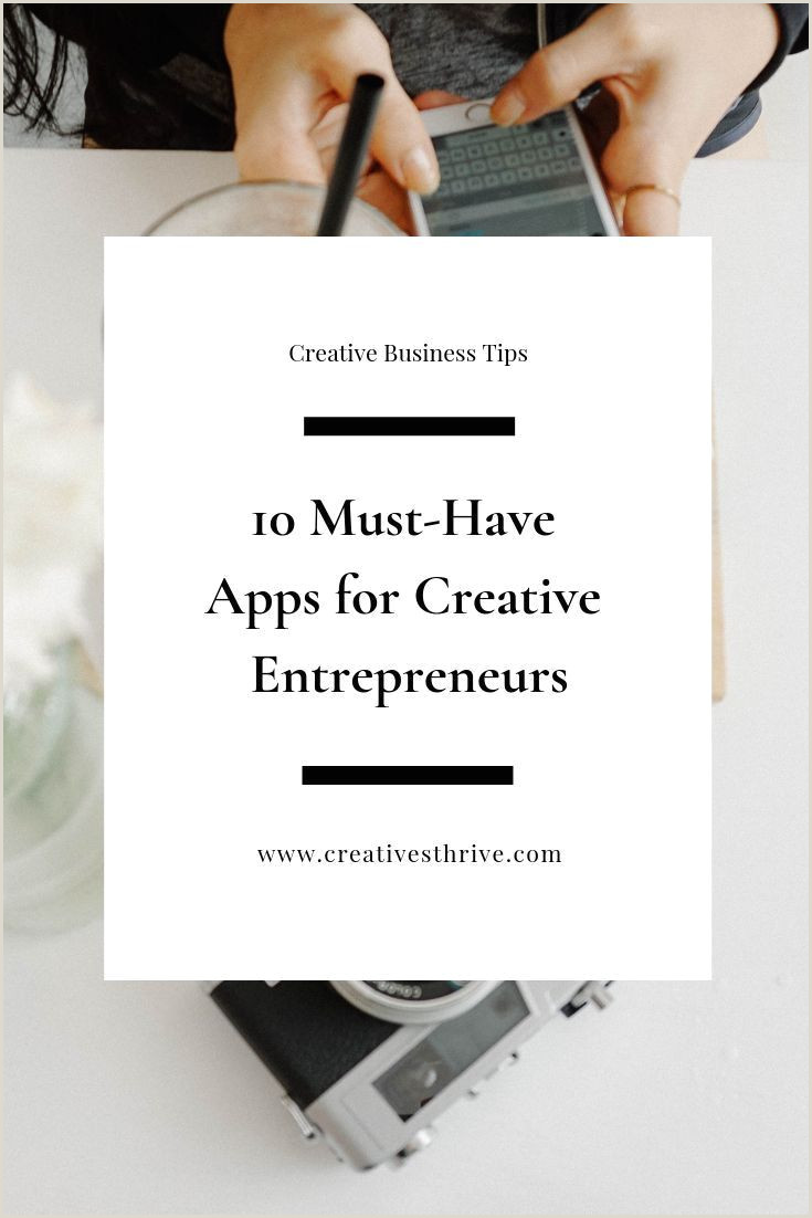 Creativebusiness A List Of Must Have Apps To Launch And Grow A Creative