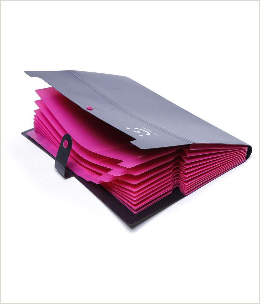 Creativebusiness A4 Organ Pack 12 Pocket Folder Multi Story Folder Female Creative Business Pack Student Test Paper Clip Lovely Smiling Folder Case 12 Pocket A4 Size