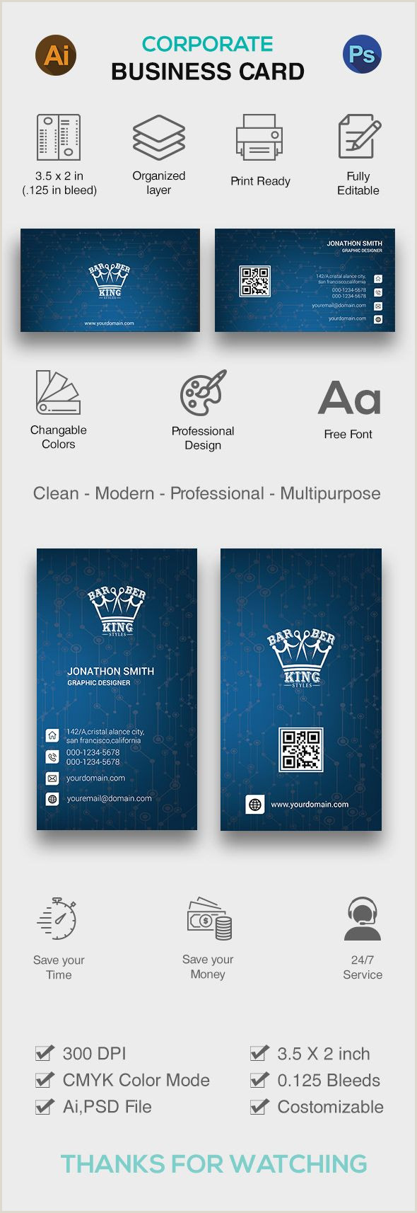 Creativebusiness Creative Business Card Design With Free Mock Up On Behance