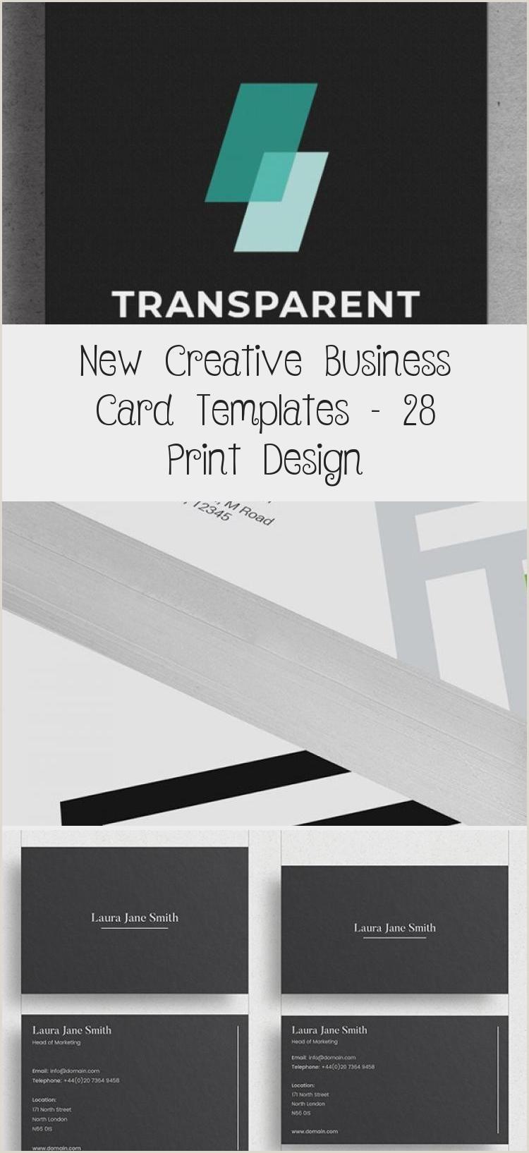 Creativebusiness New Creative Business Card Templates – 28 Print Design In