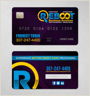 Credit Card Business Card Design Credit Card Business Cards
