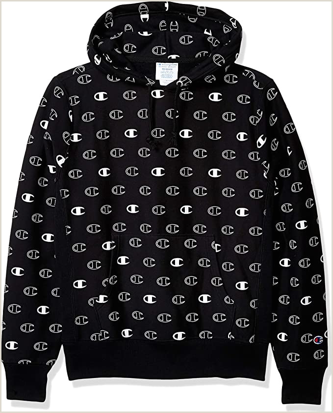 Credit Card Logos Black And White Champion Life Men S Reverse Weave With Hood Tossed C Logos