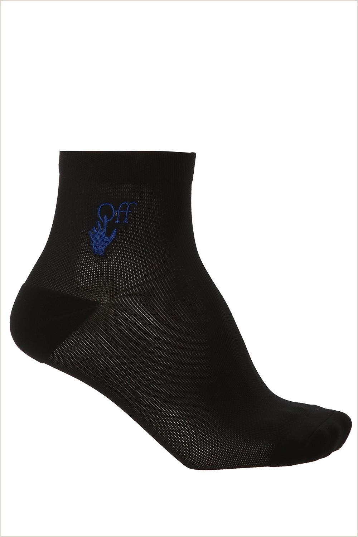 Credit Card Logos Black And White Socks With Logo F White Vitkac Netherlands