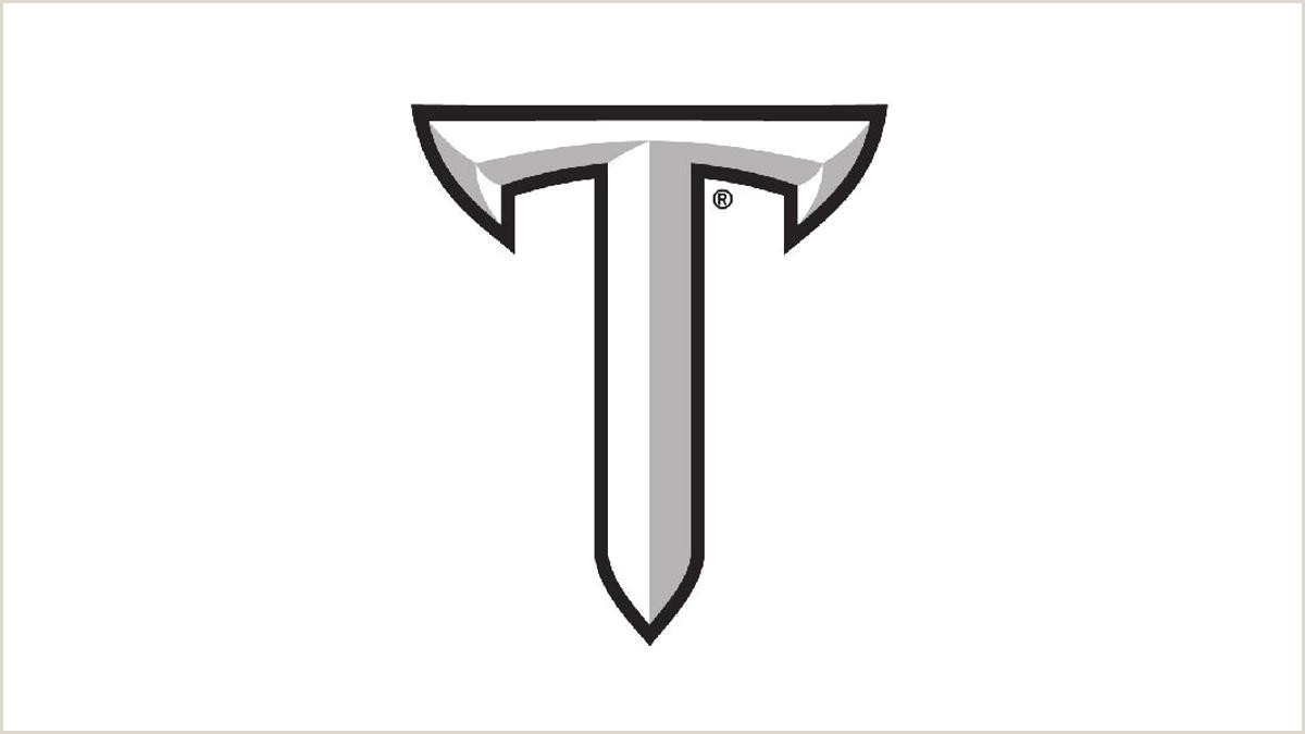 Credit Card Logos Black And White Troy Sets Kickoff Times For Five Of Six Home Games