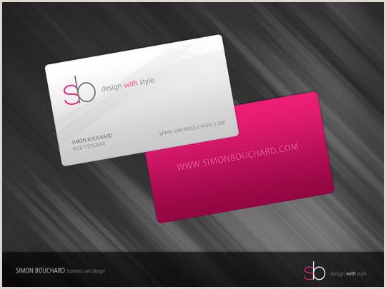 Credit Card Looking Business Cards 55 Beautiful Business Card Designs
