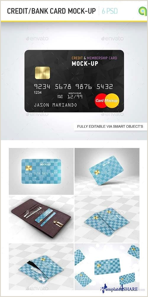 Credit Card Looking Business Cards Credit Card Shop Template Beautiful Graphicriver Credit