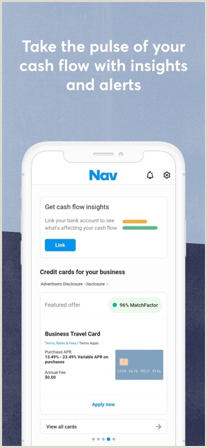 Credit Card Looking Business Cards Nav Business Credit & Finance On The App Store