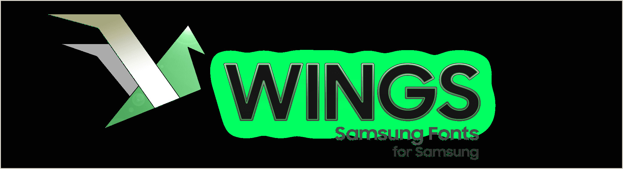 Custom Roll Up Banners Fonts] Wings Samsung Fonts V2 0d 1900 N…