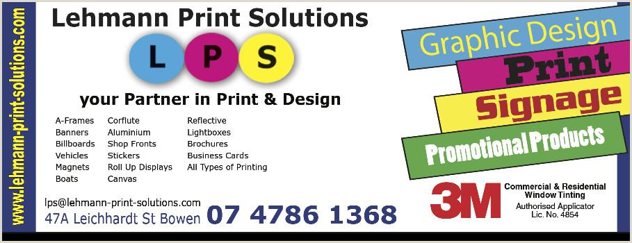 Custom Roll Up Signs Lehmann Print Solutions In Bowen 4805 Qld