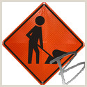 Custom Roll Up Signs Roll Up Road Signs Bases & Replacement Faces