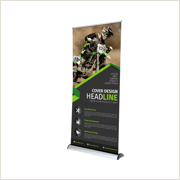 Custom Roll Up Signs Time Print Display Specialists