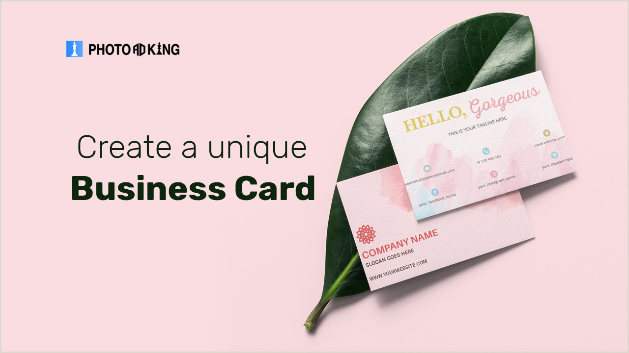 Customize Unique Business Cards Unique Business Card Ideas To Win At First Impression