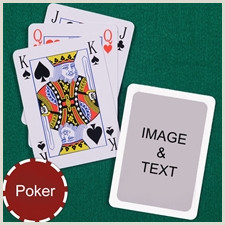 Customized Playing Cards No Minimum Custom Cards