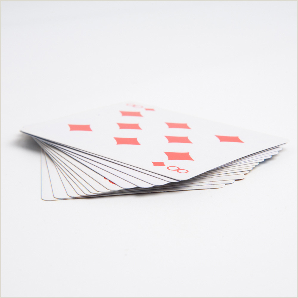 Customized Playing Cards No Minimum Personalized Poker Custom Cards Blank Cards Playing Cards