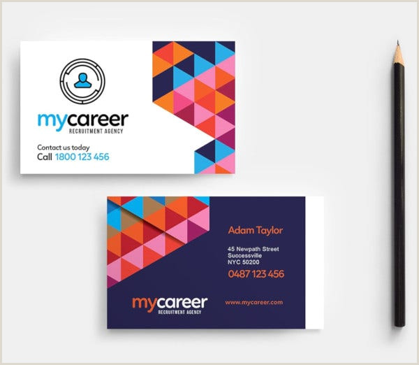 Design Agency Business Cards 18 Agency Business Card Templates Word Psd Indesign