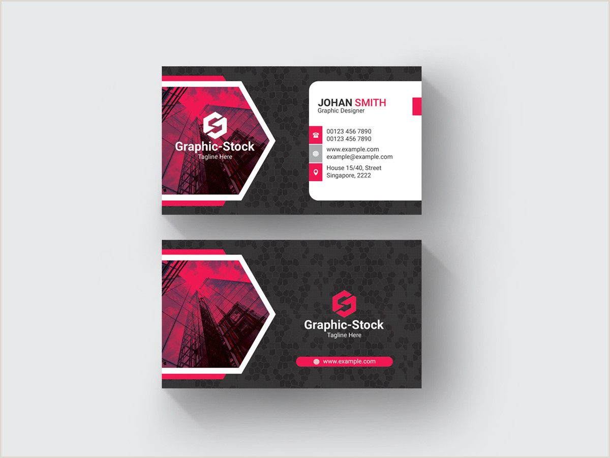 Design Agency Business Cards Creative Business Card Template