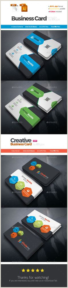 Design Agency Business Cards Vc Card