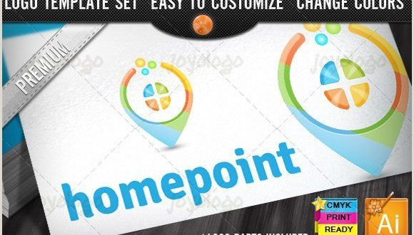 Design and Print Business Cards at Home 3d House Guide Home Point Logo