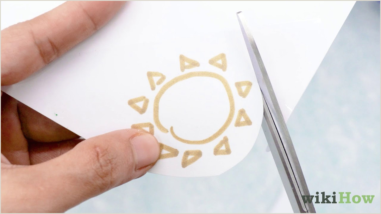 Design And Print Business Cards At Home 4 Ways To Make Stickers Wikihow