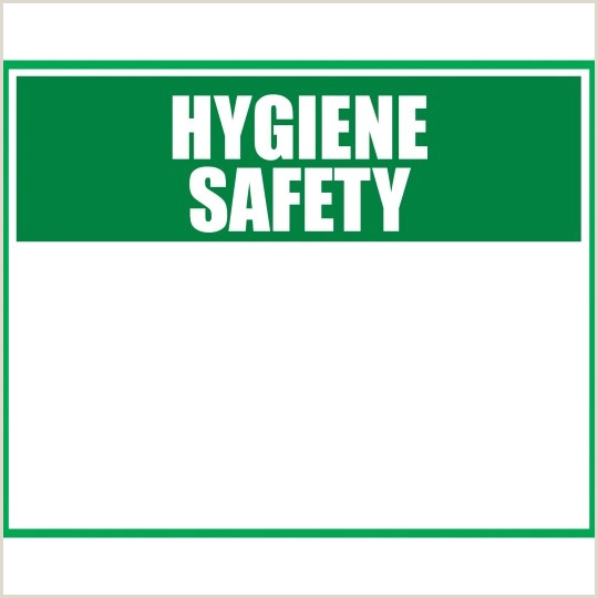 Design And Print Business Cards At Home Hygiene Health And Safety Signage
