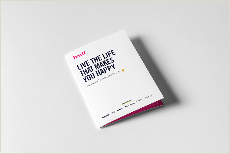 Design My Own Buisness Cards 20 Professional Trifold Brochure Templates Tips & Examples