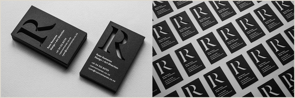 Design My Own Buisness Cards Business Card Design Inspiration 60 Eye Catching Examples