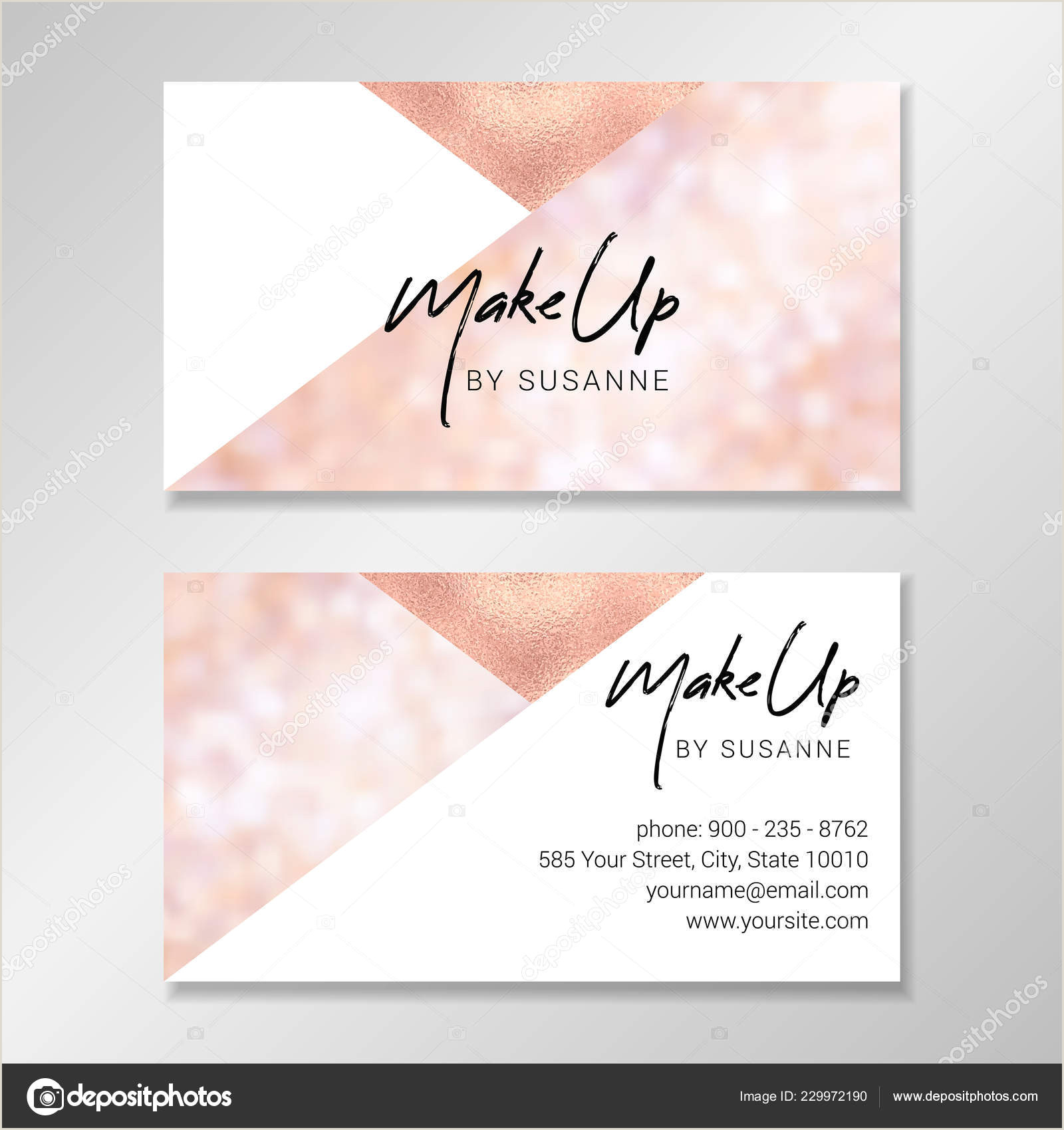 Design My Own Buisness Cards Vector Modern Customizable Business Card Easy Customize Your
