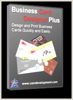 Design Your Own Business Card Business Card Making Software Business Card Designer Plus