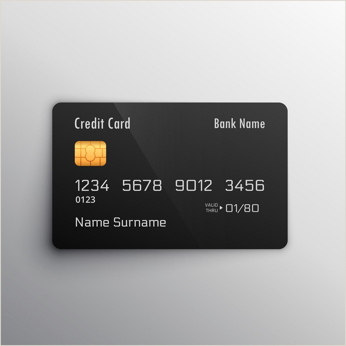 Design Your Own Credit Card Template Apply Line For Lic Credit Card