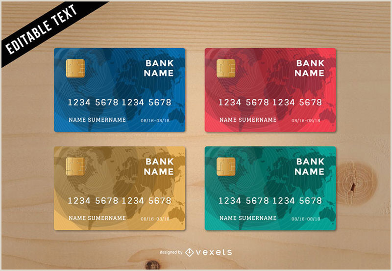 Design Your Own Credit Card Template Credit Card Template Mockups That You Can In Psd Format