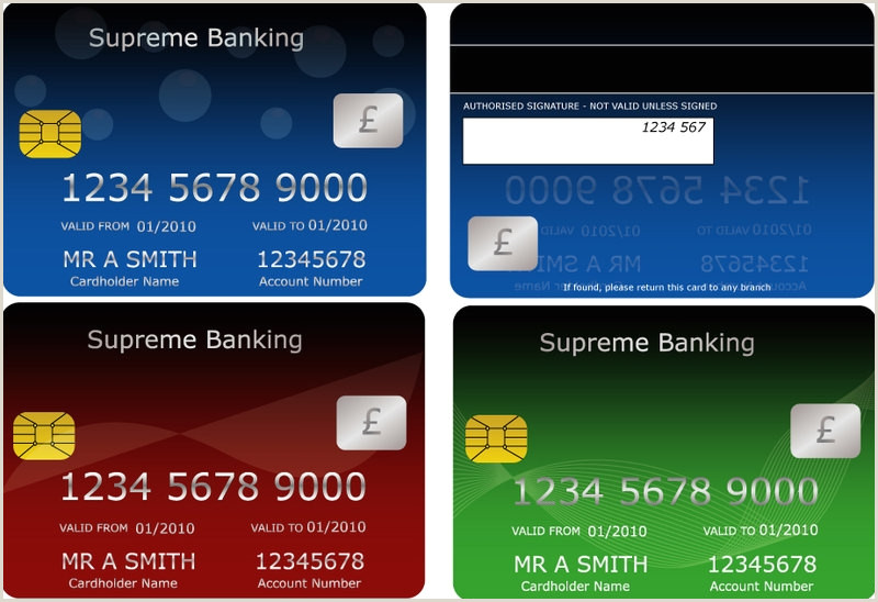 Design Your Own Credit Card Template Free 10 Credit Card Designs In Psd