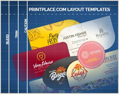 Die Cut Business Card Templates Die Cut Business Cards Print Templates Free Download