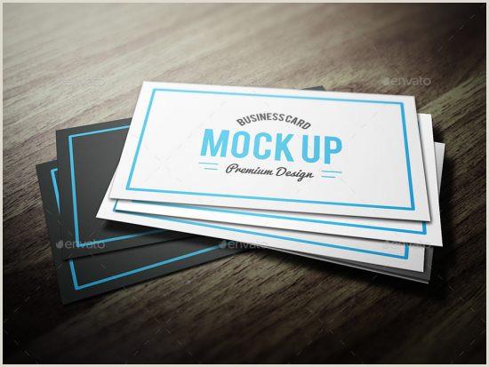 Die Cut Business Card Templates Download 20 Best Business Card Mockup & Psd Template