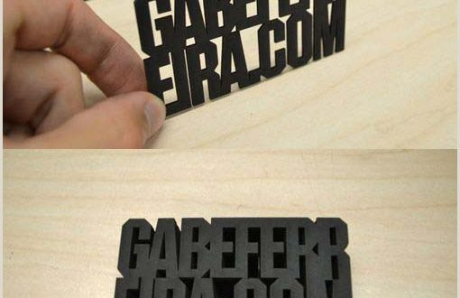 Die Cut Business Card Templates top 20 Creative and Modern Business Cards