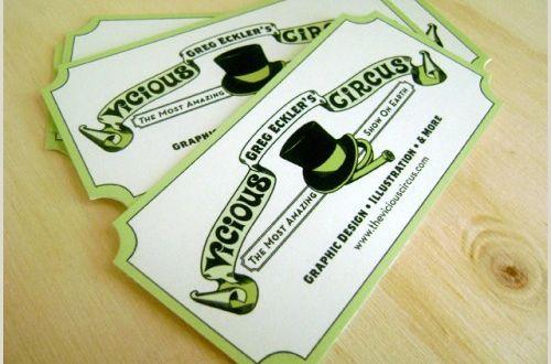 Die Cut Business Cards Templates 16 Unique Die Cut Business Cards Designs themeleopard